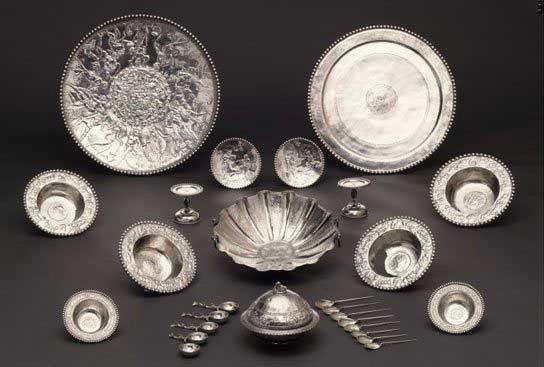 Romans In Britain Roman Silverware Including The