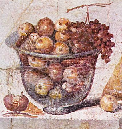 Desserts in Ancient Rome.
