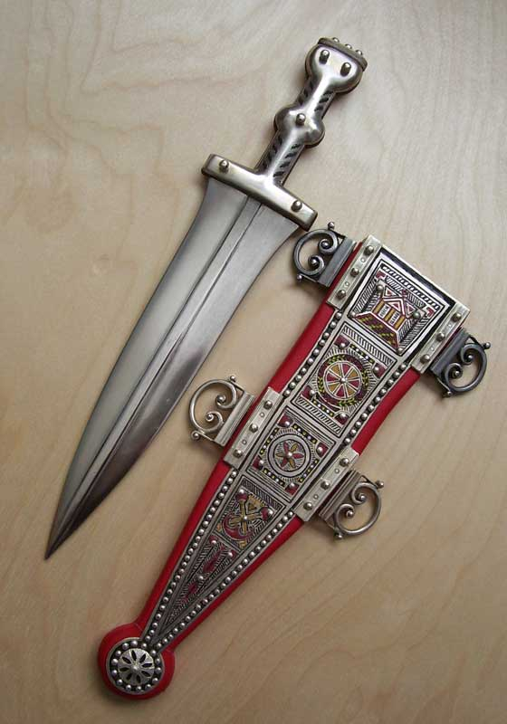 Romans In Britain The Roman Soldier S Dagger Pugio