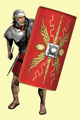Romans in Britain military menu header