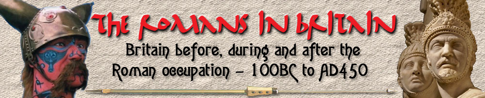 The Romans in Britain site main banner