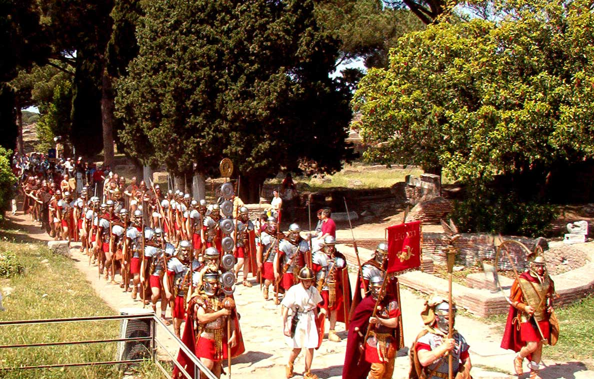 marching Romans