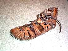 Roman soldier footwear - Caligae