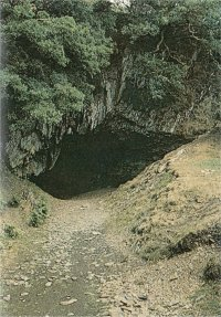 Entrance to Dolaucothi mine in Wales