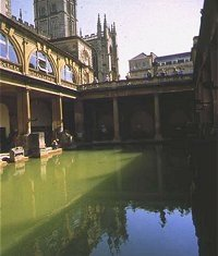 The Roman baths an Bath