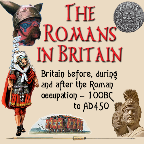 The Romans in Britain site mobile banner